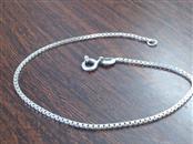 Silver Box Bracelet 925 Silver 2g